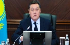 Kazakistan Başbakanı Askar Mamin yeni havalimanı inşaatını inceledi!
