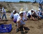 Küçük arkeologlar projesi ile Parion Antik Kenti ile Apollon Smintheus Tapınağı kazıldı!
