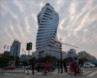 Çin'de inşa edilen Burgu Bina tasarımıyla dikkat çekiyor!