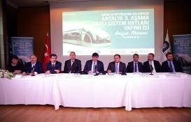 Antalya 3. Etap Raylı Sistem projesi için imzalar atıldı!