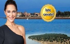 Hülya Avşar, Ayvalık Çiçek Adası'nı 55 milyon TL'ye satın mı aldı?