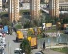 Göçmen Konutları'nda park yıkımına başlandı!