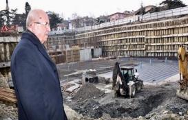 Tekirdağ katlı otopark projesinin inşaatı tam gaz!