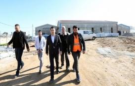 Kepez Cemevi'nin inşaatı tamamlanıyor!