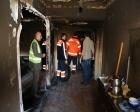 Maltepe Belediyesi yangında zarar gören evleri onardı!