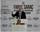 Faruk Saraç Tasarım Meslek Yüksekokulu açıldı!