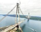3. köprünün tamamlanmasına 439 metre kaldı!