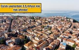 İstanbul'da binalar çatırdıyor!