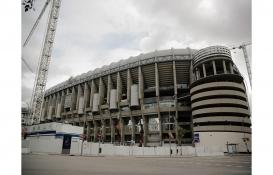 Bernabeu Stadı'nın inşaatına koronavirüs engeli!