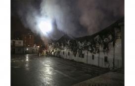 İstanbul Finans Merkezi şantiyesinde yangın!