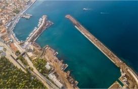 Yenifoça Yat Limanı için düğmeye basıldı!