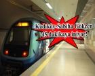 Kaynarca-Sabiha Gökçen metrosu 2018'de tamamlanıyor!