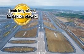İstanbul Havalimanı'nın 3. pisti açıldı!
