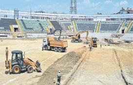 Denizli Atatürk Stadı'nda 17 milyon TL'lik yenileme!