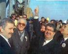 1987 yılında yeni Galata Köprüsü'nün temeli atılmış!