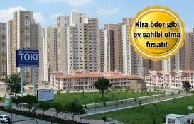 TOKİ Ankara Saraycık'taki 598 konutu satıyor!