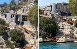 Üçağız Yarımadası'ndaki kaçak villanın Yapı Kayıt Belgesi iptal edildi!