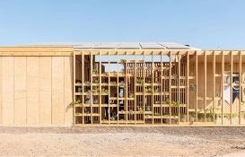Mimaride eskiye dönüş: Kerpiç ve ahşap evler!