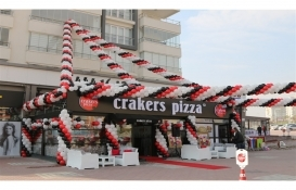 Crakers Pizza 5 şube daha açtı!