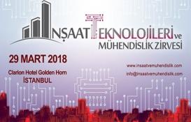İnşaat Teknolojileri ve Mühendislik Zirvesi 29 Mart'ta!