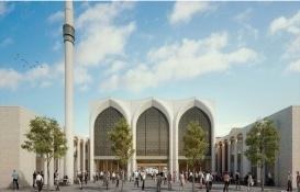 Almanya'da 2 bin kişilik cami ve külliye projesi tanıtıldı!