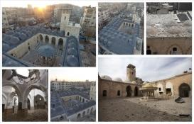 Bab'da DEAŞ'ın yıktığı ecdat yadigarı caminin restorasyonunda son aşamaya gelindi!