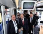 Kadir Topbaş İBB'nin ürettiği yüzde yüz yerli ilk tramvayı tanıttı!