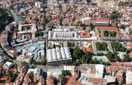 Bursa'daki Tarihi Çarşı ve Hanlar Bölgesi'nde 'imar durdurma' kararı!