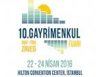 10. Gayrimenkul Fuarı ve Arap-Türk Zirvesi 23-24 Nisan'da!