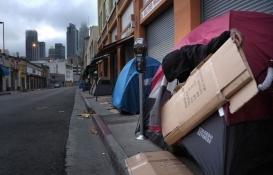 Los Angeles Skid Row Drive'de 5 binden fazla evsiz var!