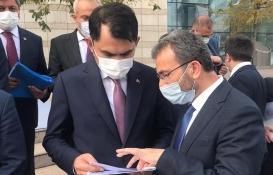 Ahmet Cin Pendik'teki kentsel dönüşüm için Murat Kurum'la görüştü!