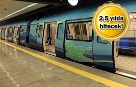 İstanbul Havalimanı-Halkalı Metrosu'nda tünel kazısı başlıyor!