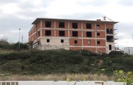 Gebze İtfaiye Müfrezesi'nin kaba inşaatı tamamlandı!