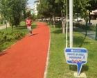 Uşak'ta yürüyüş yolları yenilendi!