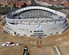 Atletico Madrid'in yeni stadı tamamlanıyor!