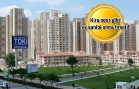 TOKİ'den dar gelirliye 1.424 yeni konut!