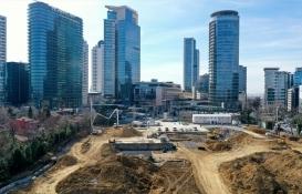 Merkez Bankası'nın Levent'teki arsasında camii inşaatı başladı!