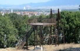 Bursa'daki Macera Parkı'nın inşaatı tam gaz devam!