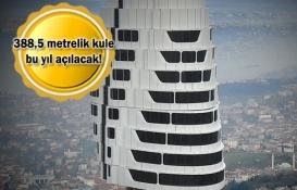 Küçük Çamlıca TV-Radyo Kulesi inşaatında sona doğru!