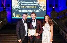 Vadistanbul uluslararası bir ödülün daha sahibi oldu!