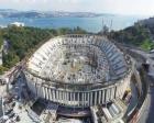 Vodafone Arena'nın çatısı yerleştiriliyor!