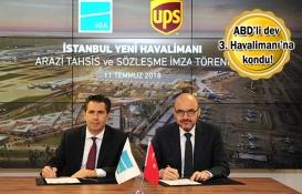 ABD'li şirkete İstanbul Yeni Havalimanı'ndan arazi tahsisi!