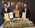 Bezci Villa Projesi'ne Avrupa ödülü!