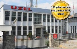 Uzel'in arazisi ve fabrika binası bugün satılıyor!