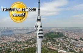Çamlıca Radyo ve Televizyon Kulesi'nde sona gelindi!