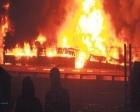 Küçükçekmece Halkalı Gümrüğü'nde yangın çıktı!