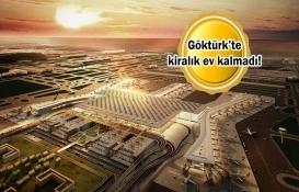 İstanbul Havalimanı ile Göktürk'te ev fiyatları uçuşa geçti!
