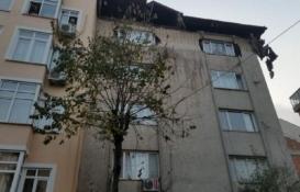 Şişli'de çatısında çökme meydana gelen bina mühürlendi!