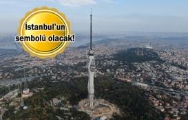 Küçük Çamlıca TV-Radyo Kulesi'nde son parçalar yerleştiriliyor!