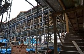 Çorum'daki 153 yıllık Osmanlı hanı yeniden inşa ediliyor!